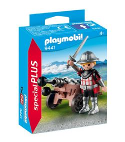 PLAYMOBIL -  KNIGHT WITH CANNON 9441