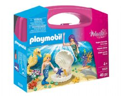 PLAYMOBIL -  MAGICAL MERMAIDS CARRY CASE (46 PIECES) 9324