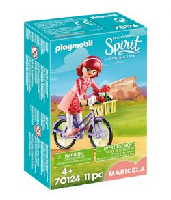 PLAYMOBIL -  MARICELA WITH BICYCLE (11 PIECES) 70124