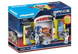 PLAYMOBIL -  MARS MISSION PLAY BOX (60 PIECES) 70307