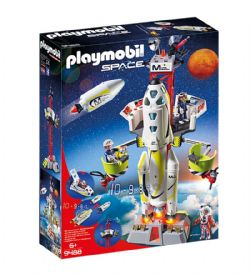 PLAYMOBIL -  MISSION ROCKET WITH LAUNCH SITE 9488