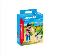 PLAYMOBIL -  MOTHER WITH BABY AND DOG (7 PIECES) 70154