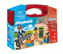 PLAYMOBIL -  MUSIC CLASS CARRY CASE (25 PIECES) 9321