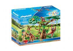 PLAYMOBIL -  ORANGUTANS WITH TREE (49 PIECES) 70345