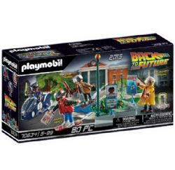 PLAYMOBIL -  PART II - HOVERBOARD CHASE (64 PIECES) -  BACK TO THE FUTURE 70634