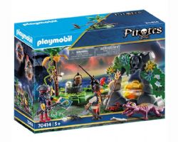 PLAYMOBIL -  PIRATE HIDEAWAY