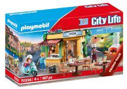 PLAYMOBIL -  PIZZERIA (167 PIECES) 70336