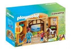 PLAYMOBIL -  PLAY BOX - HORSES (44 PIECES) 5660