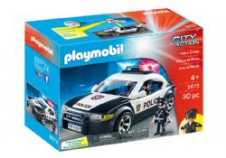 PLAYMOBIL -  POLICE CAR (30 PIECES) 5673