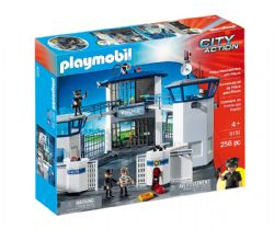 PLAYMOBIL -  POLICE HEADQUARTERS WITH PRISON (256 PIECES) 9131
