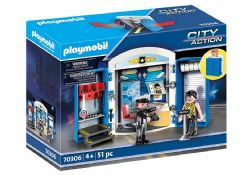 PLAYMOBIL -  POLICE STATION CHEST (51 PIECES) 70306