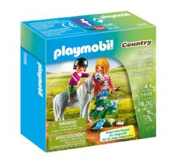 PLAYMOBIL -  PONY WALK (16 PIECES) 5688