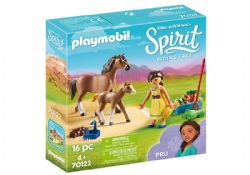 PLAYMOBIL -  PRU WITH HORSE AND FOAL (16 PIECES) 70122