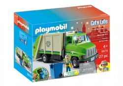 PLAYMOBIL -  RECYCLING TRUCK (27 PIECES) 5679