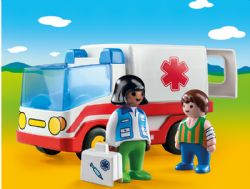 PLAYMOBIL -  RESCUE AMBUANCE 9122
