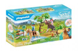 PLAYMOBIL -  RIVER CHALLENGE (78 PIECES) 70330
