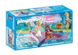 PLAYMOBIL -  ROMANTIC FAIRY BOAT (27 PIECES) 70000