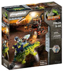 PLAYMOBIL -  SAICHANIA: INVASION OF THE ROBOT (73 PIECES) 70626