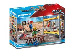 PLAYMOBIL -  SCAFFOLDING WITH WORKERS  70446