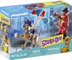 PLAYMOBIL -  SCOOBY-DOO! ADVENTURE WITH GHOST CLOWN (34 PIECES) 70710