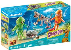 PLAYMOBIL -  SCOOBY-DOO! ADVENTURE WITH GHOST OF CAPTAIN CUTLER (31 PIECES) 70708
