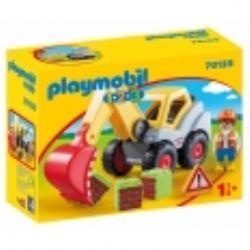 PLAYMOBIL -  SHOVEL EXCAVATOR 70125
