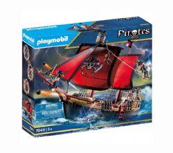 PLAYMOBIL -  SKULL PIRATE SHIP (132 PIECES) 70411