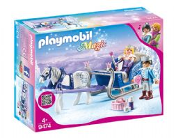 PLAYMOBIL -  SLEIGH WITH ROYAL COUPLE 9474