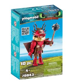 PLAYMOBIL -  SNOTLOUT WITH FLIGHT SUIT (10 PIECES) 70043