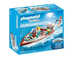 PLAYMOBIL -  SPEEDBOAT WITH UNDERWATER MOTOR 9428