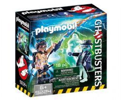 PLAYMOBIL -  SPENGLER AND GHOST (18 PIECES) 9224