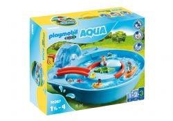 PLAYMOBIL -  SPLISH SPLASH WATER PARK (16 PIECES) 70267