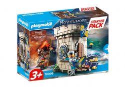 PLAYMOBIL -  STARTER PACK NOVELMORE DONJON (62 PIECES) 70499