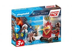 PLAYMOBIL -  STARTER PACK NOVELMORE KNIGHTS (23 PIECES) 70503