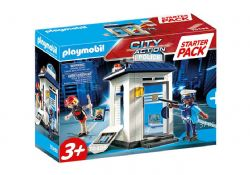 PLAYMOBIL -  STARTER PACK POLICE STATION (37 PIECES) 70498