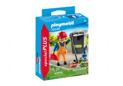 PLAYMOBIL -  STREET CLEANER (16 PIECES) 70249