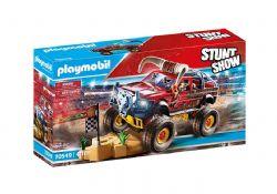 PLAYMOBIL -  STUNTSHOW 4X4 BULL CASCADE (57 PIECES) 70549