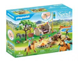 PLAYMOBIL -  SUMMER CAMPGROUND (130 PIECES) 70329