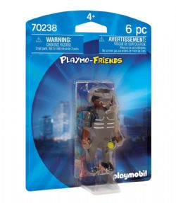 PLAYMOBIL -  TACTICAL UNIT OFFICER (6 PIECES) 70238