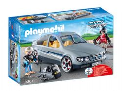 PLAYMOBIL -  TACTICAL UNIT UNDERCOVER CAR 9361
