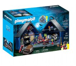 PLAYMOBIL -  TAKE ALONG HAUNTED HOUSE (70 PIECES) 9308