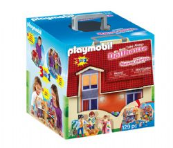 PLAYMOBIL -  TAKE ALONG MODERN DOLL HOUSE (129 PIECES) 5167