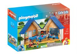 PLAYMOBIL -  TAKE ALONG SCHOOL HOUSE (68 PIECES) 5662