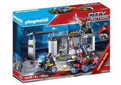 PLAYMOBIL -  TAKE ALONG TACTICAL UNIT HEADQUARTERS  70338 70338