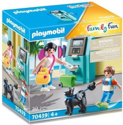 PLAYMOBIL -  TOURISTS WITH ATM (29 PIECES) 70439