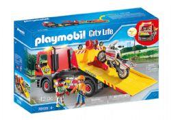 PLAYMOBIL -  TOWING SERVICE (42 PIECES) 70199