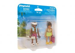 PLAYMOBIL -  VACATION COUPLE (14 PIECES) 70274
