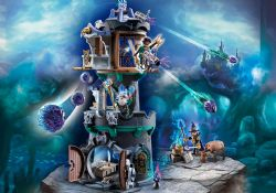 PLAYMOBIL -  VIOLET VALE - TOWER OF WIZARDS (135 PIECES) 70745