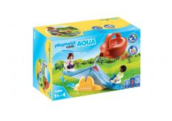 PLAYMOBIL -  WATER SEESAW WITH WATERING CAN (7 PIECES) 70269