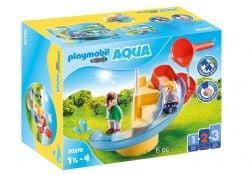 PLAYMOBIL -  WATER SLIDE (6 PIECES) 70270